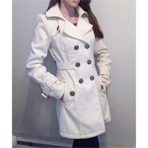 Worthington White winter Coat